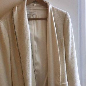 Winter White/ Off White Escada Formal Wear